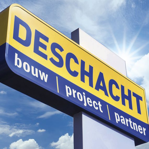 Header paneel Deschacht Bouwmaterialen