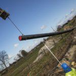 Deschacht realisatie | Waterzuiveringstraject | grondwerken