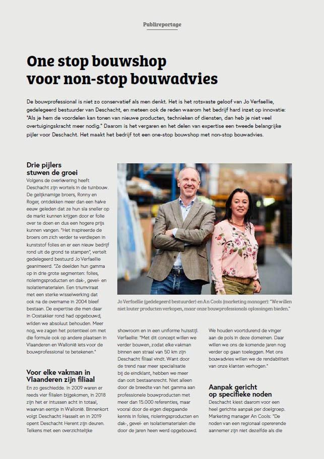 Pers Bouwnieuws Deschacht