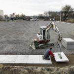 Deschacht realisatie | Hockeyveld Gantoise | grondwerken