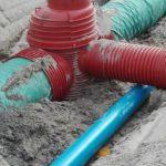 Deschacht realisatie | Afvoer en buffering van regenwater | grondwerken