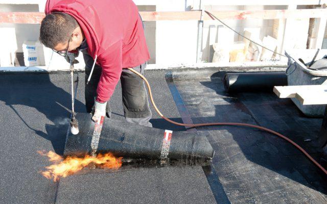 Deschacht realisatie | Nieuw plat dak | dakwerkers
