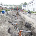 Deschacht realisatie | Gescheiden riolering CO2 neutrale wijk | grondwerken