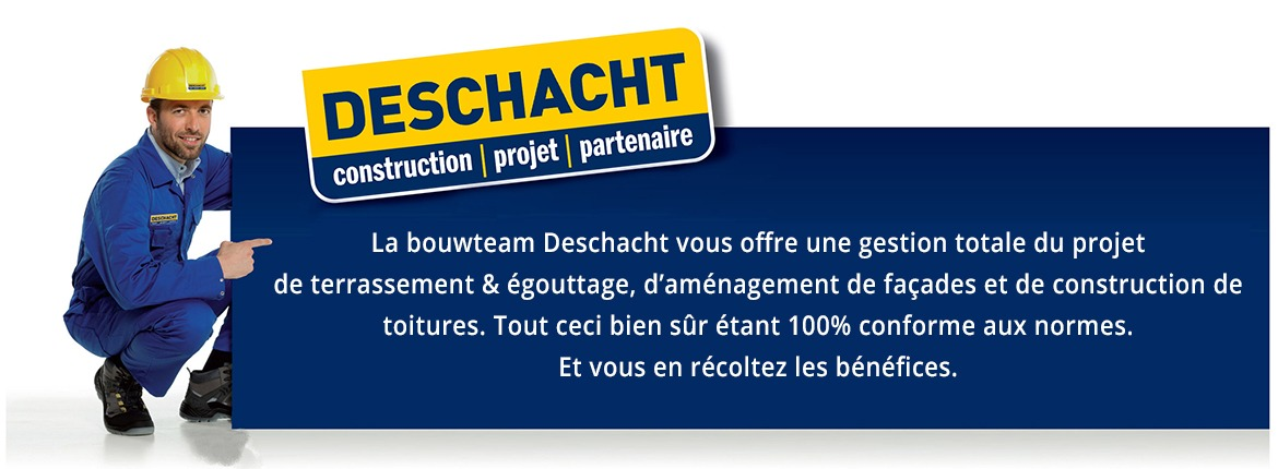 Deschacht - Gestion de projet de construction