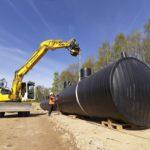 Deschacht realisatie | Industriële opslagtanks en afscheiders | grondwerken