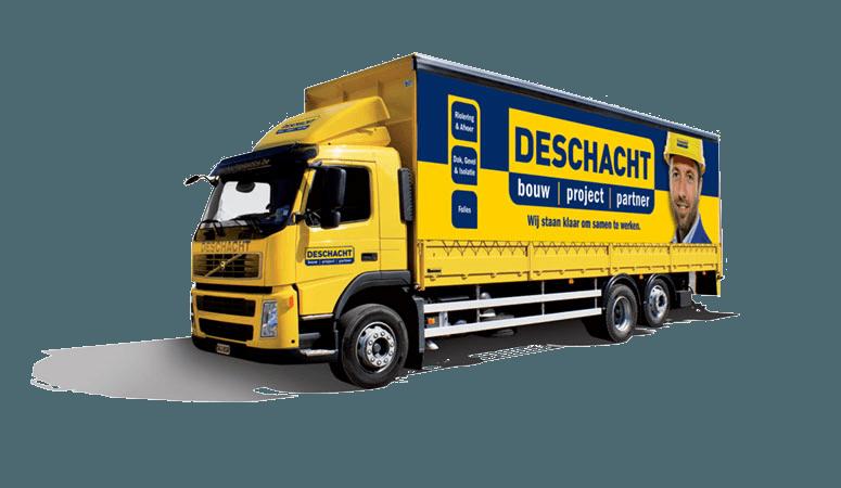 Deschacht vrachtwagen