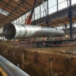 Deschacht realisatie | Gare Maritime | grondwerken
