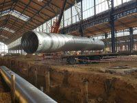 Deschacht realisatie   Gare Maritime   grondwerken