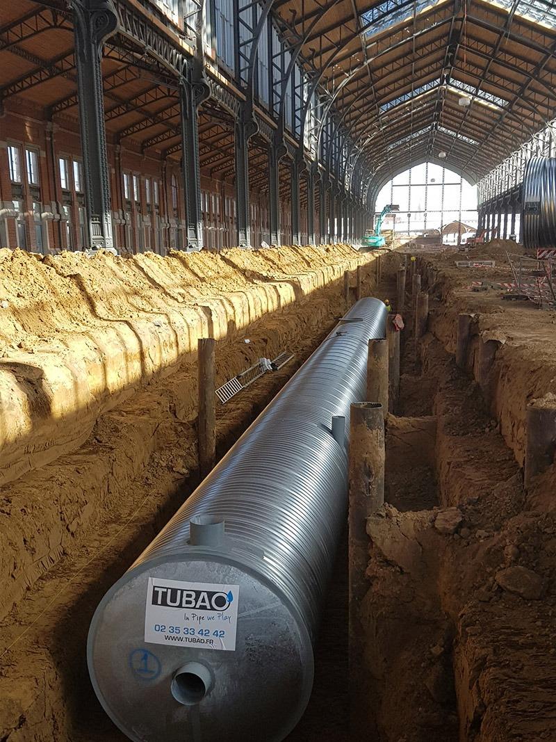 Deschacht | Tubao bufferen en vertraagd afvoeren regenwater