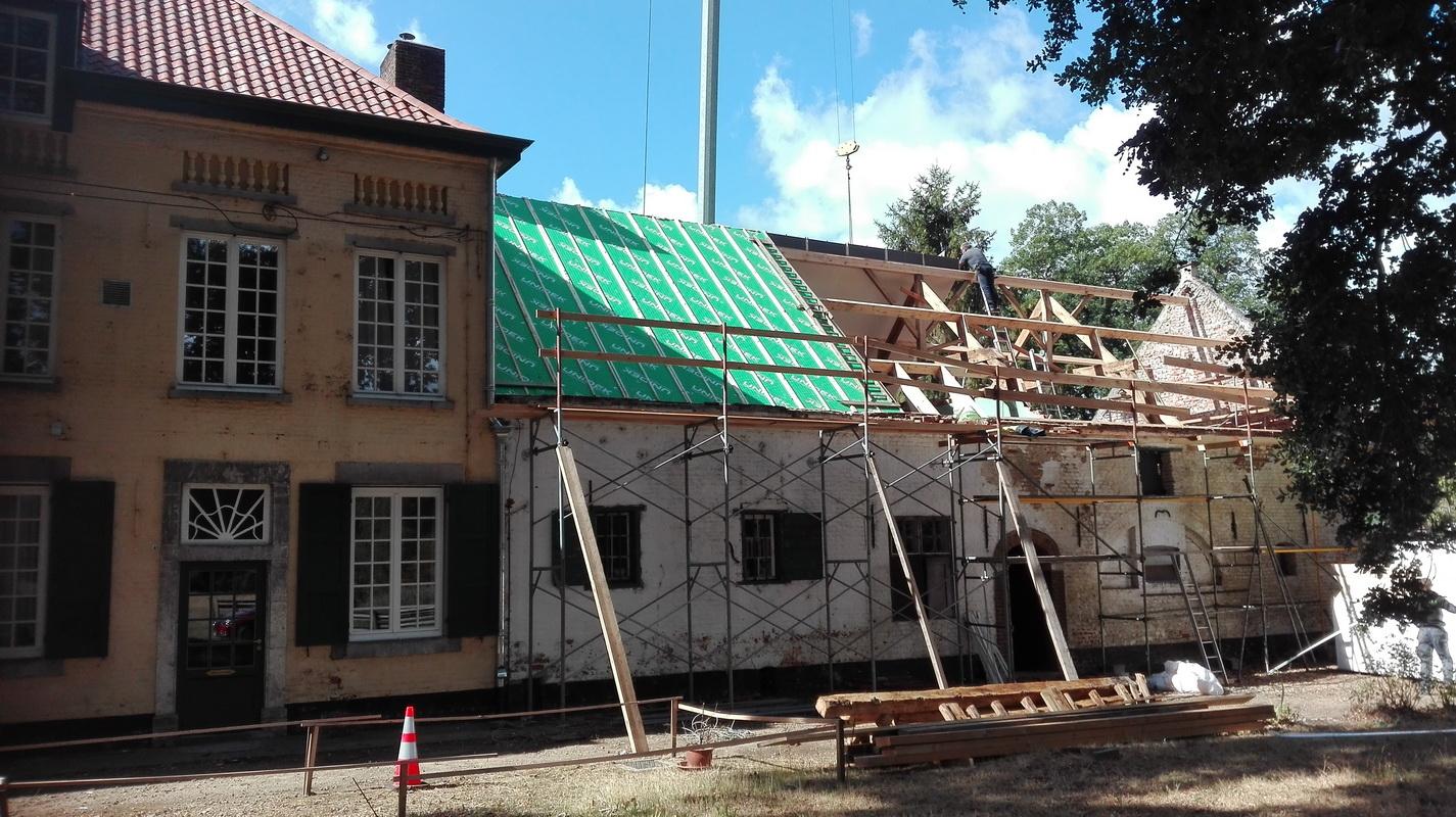 Deschacht realisatie | Unidek Kolibrie | aannemers dakwerkers