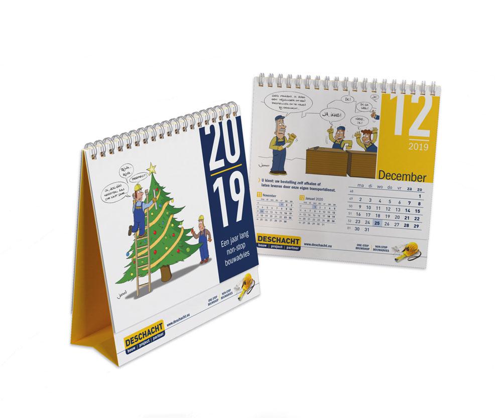 Deschacht kalender