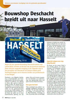 Deschacht Persartikel | Roof Belgium maart 2019