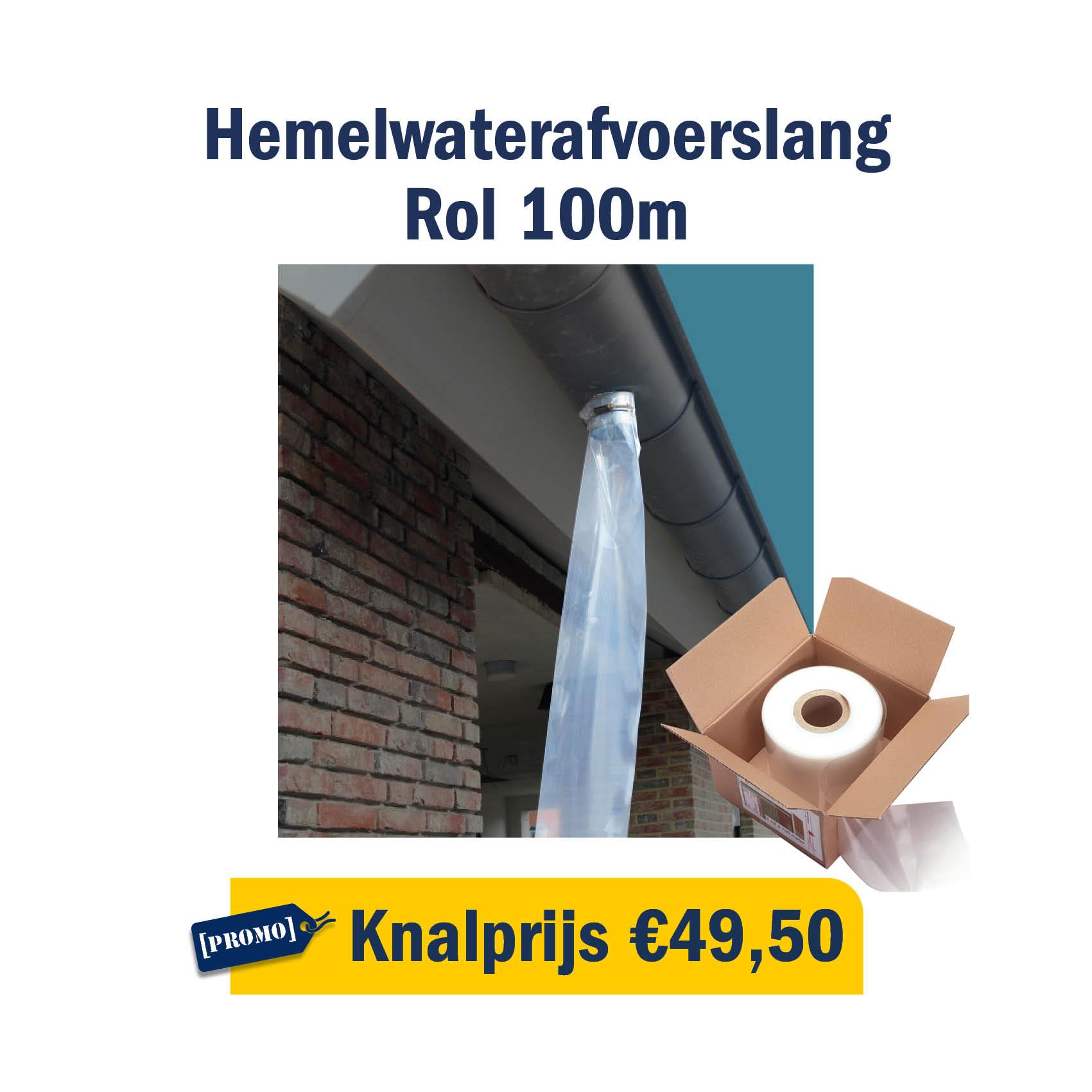 Hemelwaterafvoerslang: knalprijs van €49,50