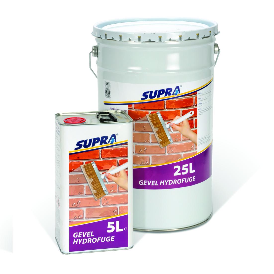 SUPRA Hydrofuge Façade : prix fou de €20 et €85