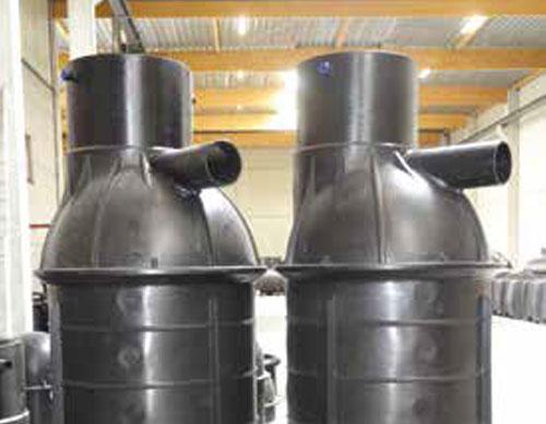Toezichtkamers in HDPE op maat gelast