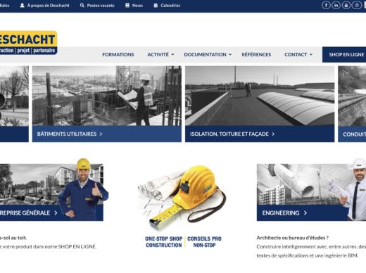 Deschacht site web