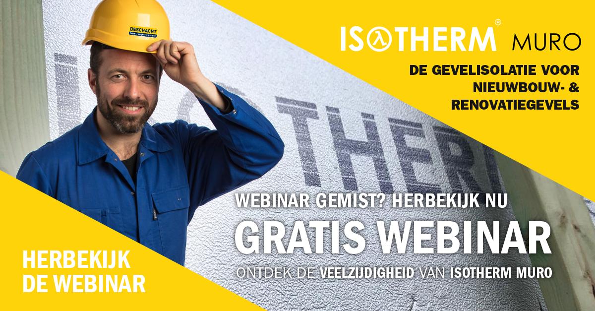 Herbekijk Isotherm Muro webinar