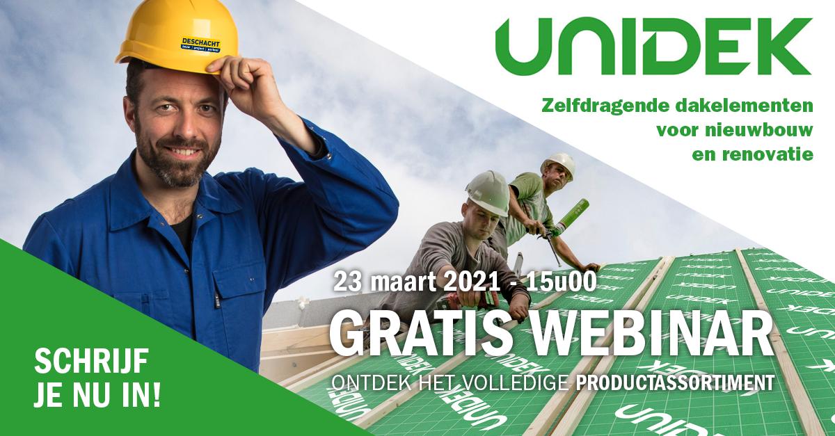 webinar Unidek